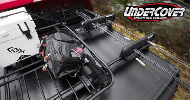 UnderCover's Ridgelander Accessory Kits provide even more carrying capacity.