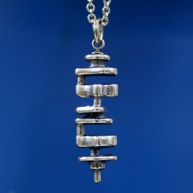 This original crankshaft necklace makes our short list of stocking stuffers for car lovers.