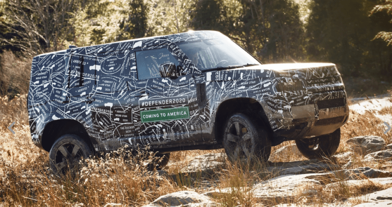 2020 Land Rover Defender has been spied.