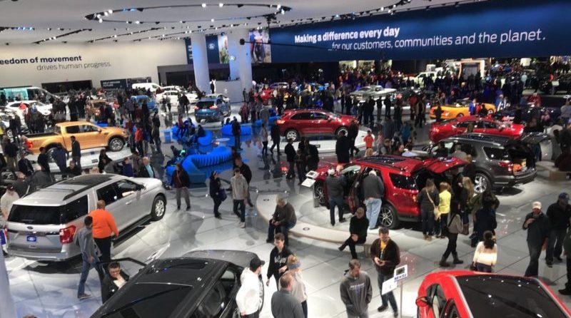 The 2019 Detroit Auto Show runs Jan 12-27.
