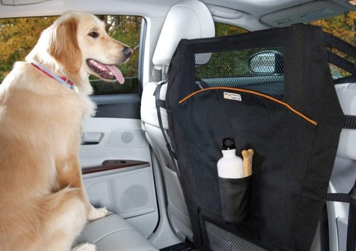 This Kurgo Backseat Barrier makes our short list of stocking stuffers for car lovers.