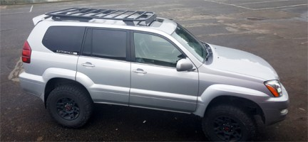 Warrior Products recently released a brand-new platform roof rack for '03 – '09 Lexus GX470s.