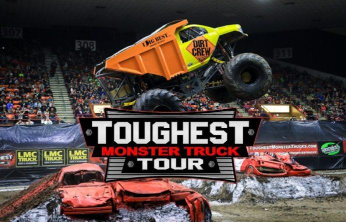 The 2019 Toughest Monster Truck Tour kicks off January 11 in Prescott Valley, AZ.
