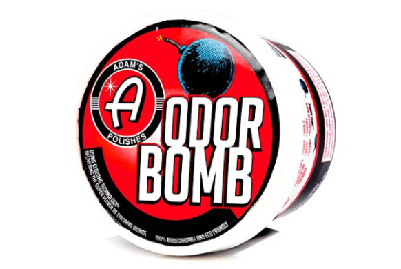 Adam's Odor Bomb makes our short list of stocking stuffers for car lovers.