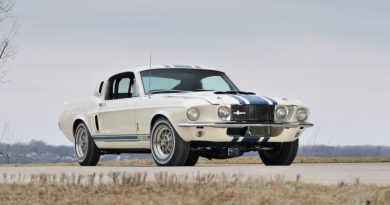 The only 1967 Shelby GT500 Super Snake in existence will be up for auction at the first Mecum auction in 2019.