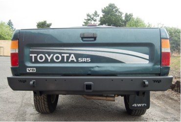Warrior Products recently released an upgraded Rear Plate Bumper for older model Toyota pickups.