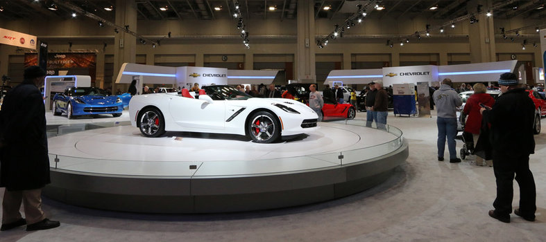 The Washington Auto Show runs April 5 - 14.