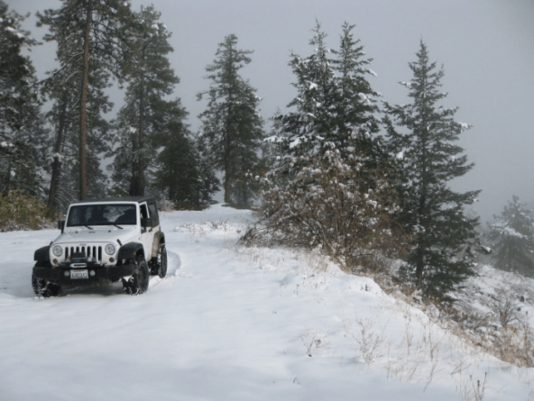 A substantial tread with plenty of slipping is going to help you achieve max traction when winter wheeling.