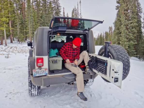 When winter wheeling, you absolutely need to keep an emergency supply bag on hand.