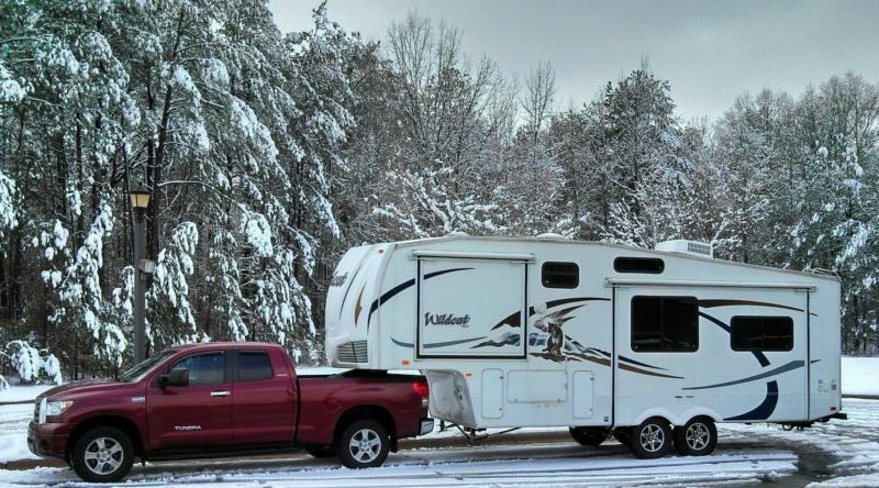 We teamed up with Chad Wall of Blue Ox, and Lisa McCrory of NTP-STAG and Keystone Automotive, to discuss proper towing techniques during winter.
