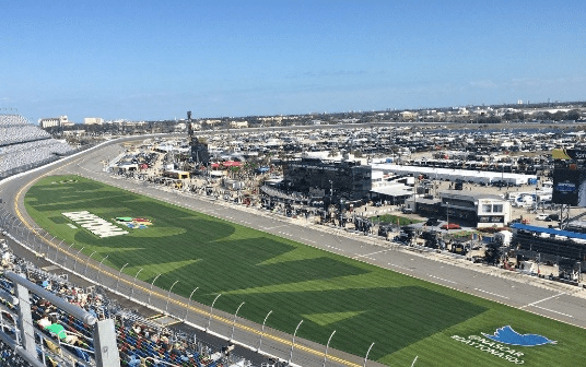 """First up on our list of 12 Valentine's Day Gifts for Car Lovers is a """"romantic getaway"""" to the Daytona 500."""
