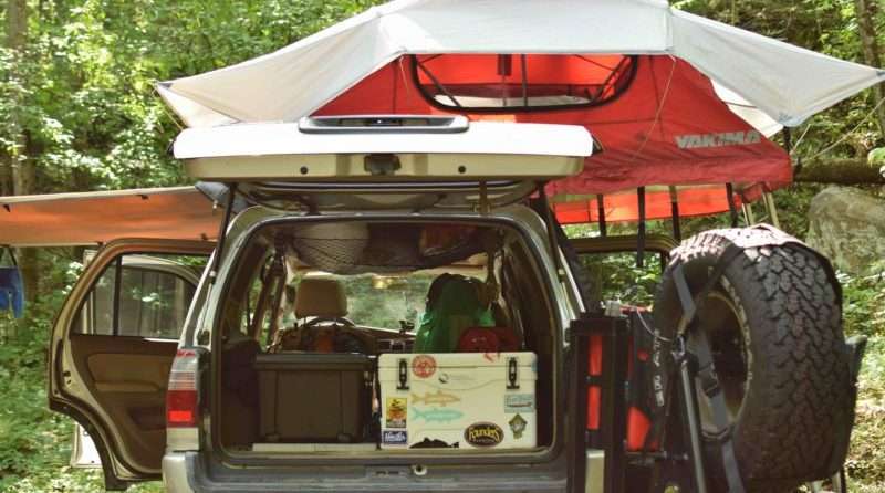 True overlanders are full-time explorers. Their vehicle is their everything--home, bedroom, kitchen, etc...