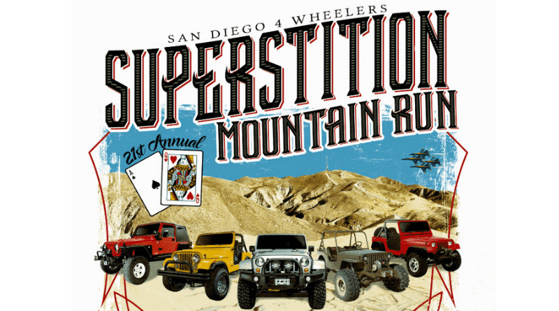 Last but not least on our list of worthy trail runs in Southern California is the Superstition Mountain Run hosted by the San Diego 4 Wheelers Club in the OHV area of El Centro, California.