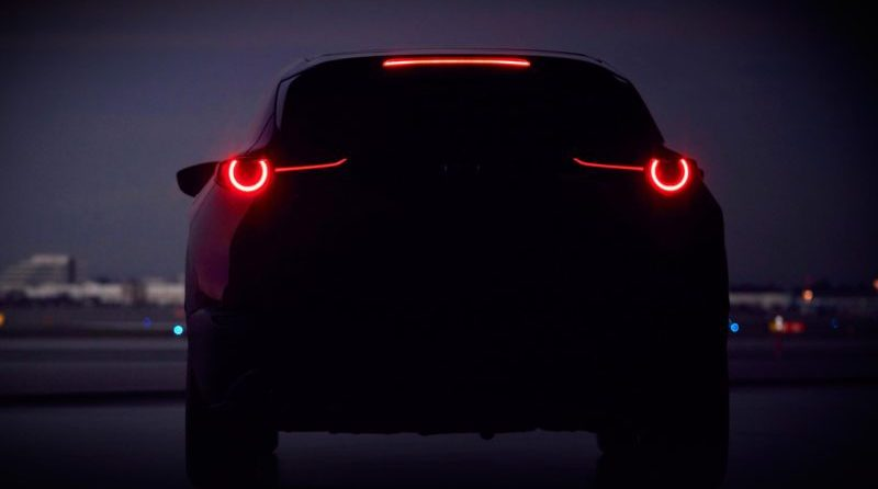Mazda should have something exciting to show at the 2019 Geneva Motor Show. It teased this image of a possible new crossover addition.