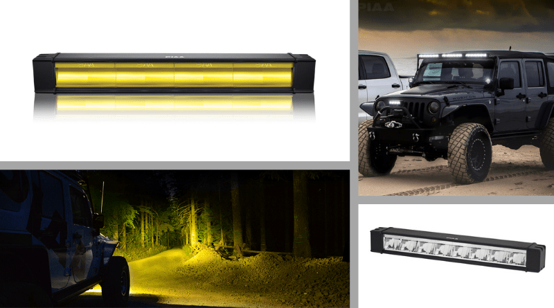 Looking for advanced light bar options? Check out PIAA's RF Series.
