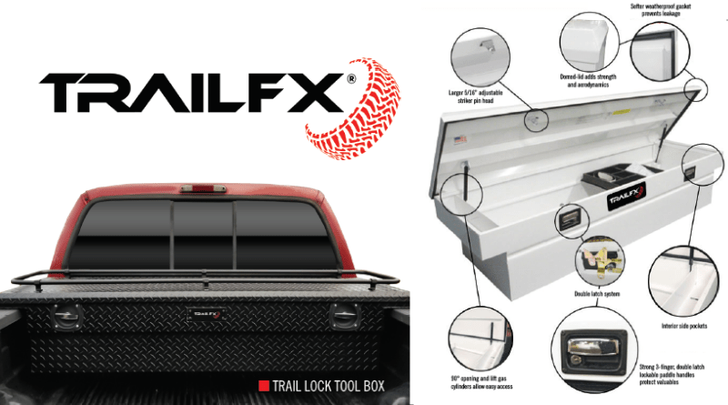 Even something as fundamental as the in-bed toolbox has evolved alongside the pickup. TrailFX toolboxes are durable, stylish, and long-lasting.