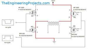 Pure Sine Wave Inverter Design With Code | The Engineering Projects