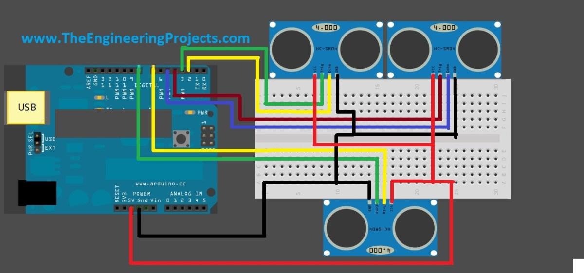 ultrasonic sensors with arduino, ultrasonic sensor code for arduino,hcsr04 ultrasonic sensor arduino, sonar sensor with arduino