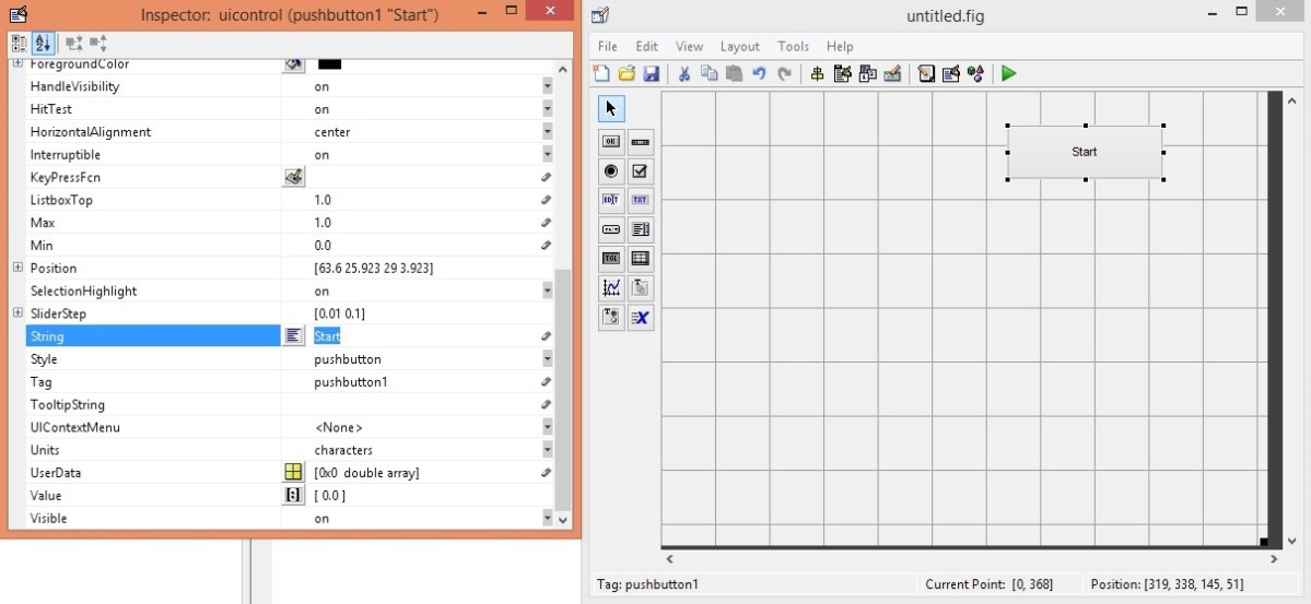 how GUI is created in matlab, what is meant by GUI, how GUI works, how GUI is created in MATLAB