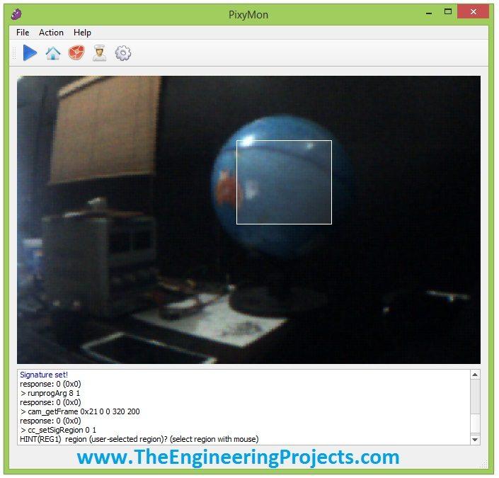 Pixy camera computer interface,interface pixy camera with coputer, train pixy camera with pixyMon
