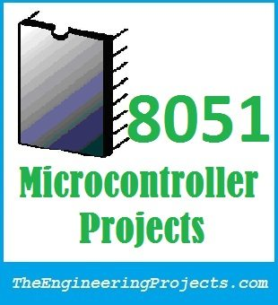 8051 projects, 8051 student projects, 8051 microcontroller projects, projects on 8051, 8051 student project