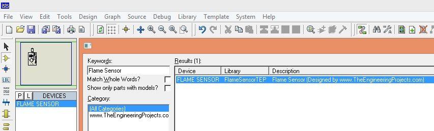 Flame Sensor library for proteus, flame sensor in proteus, flame sensor proteus, flame sensor proteus library,flame sensor library for proteus 8