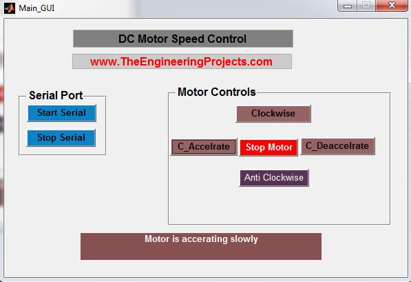 DC Motor Speed Control using Matlab, Control Speed of DC motor using Matlab, Matlab to control the speed of the DC motor , DC motor speed control with Matlab, How to control the speed of the DC motor using Matlab