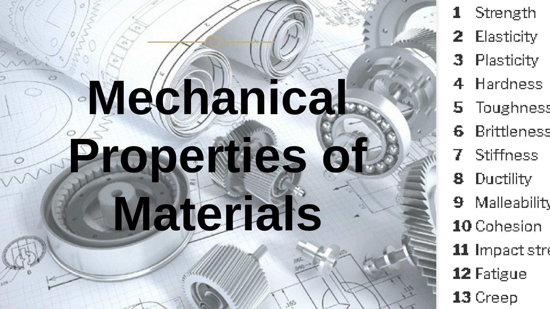Mechanical Properties of Materials [The Complete List]