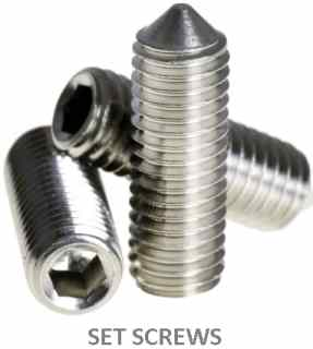 set screw locking