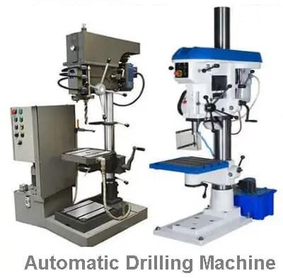 Automatic drlling machine