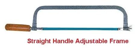 Types of hacksaw frame - Straight handle adjustable frame