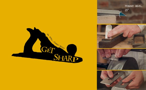 how to sharpen plane irons & chisels
