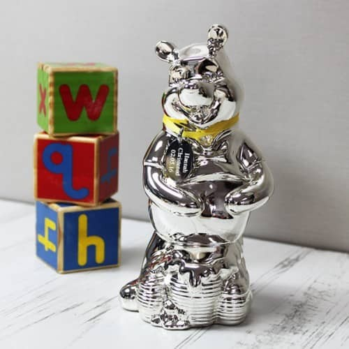 Engraved Disney Winnie The Pooh Shaped Money Box