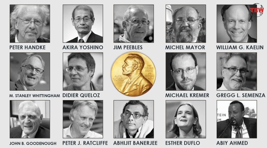 And The 2019 Nobel Prize Winners Are