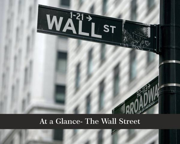 At a Glance - The Wall Street rise