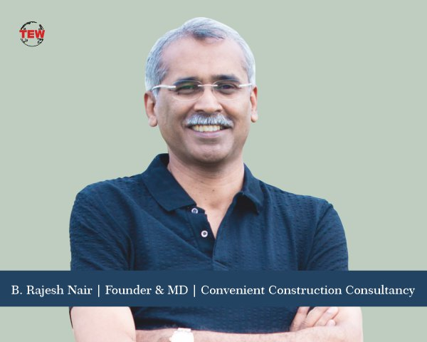 B. Rajesh Nair founder and managing director