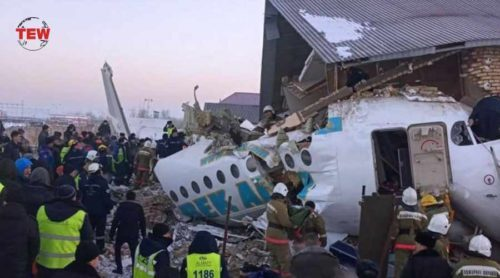 Plane crashed in Kazakhstan