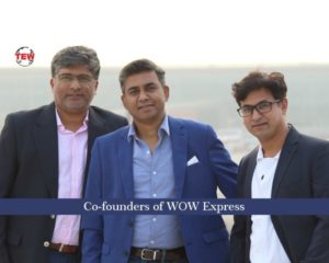 Co-founders of WOW Express