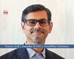 Puneet Jetli Founder & CEO SensiWise Solutions