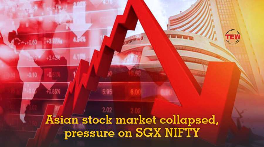 Asian stock market collapsed, pressure on SGX NIFTY