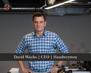 David Wachs CEO Handwrytten