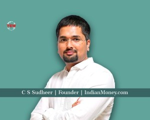 C S Sudheer Founder IndianMoney