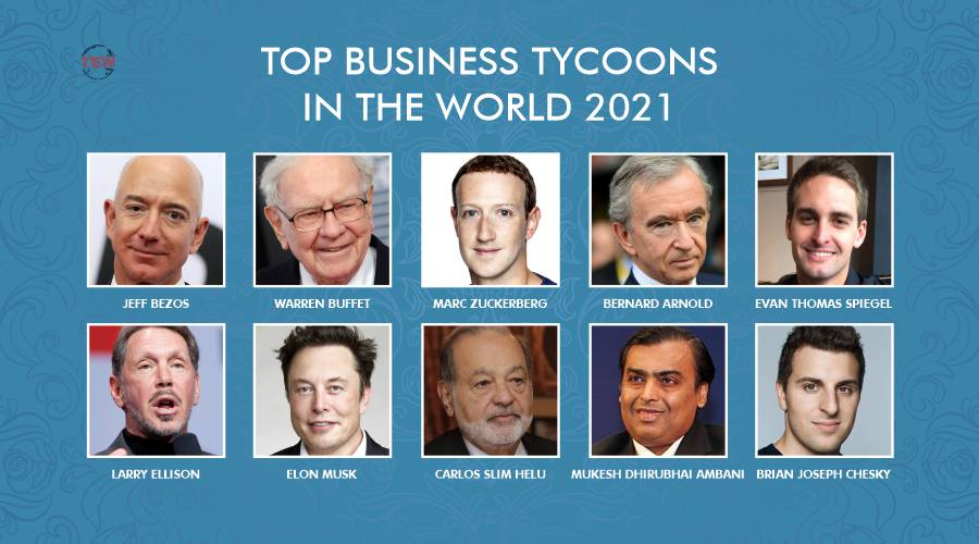 Top Business Tycoons in the World 2021