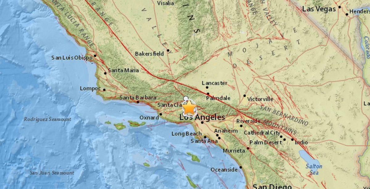Earthquake In Los Angeles Today 3 Quakes Near Granada
