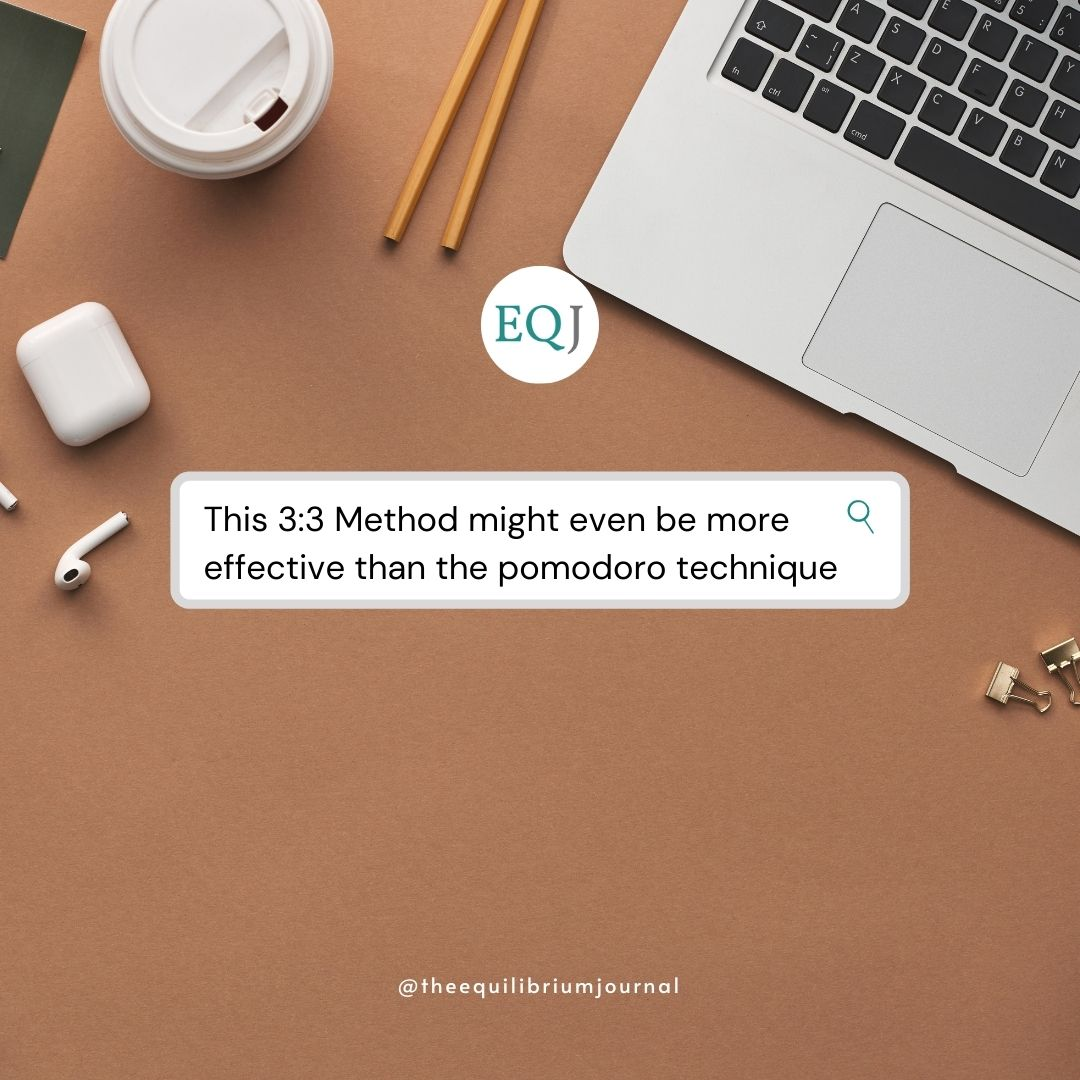 Read more about the article This 3:3 Method Might Even Be More Effective Than The Pomodoro Technique!