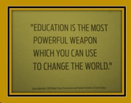 EDUCATION POWERFUL WEAPON 2