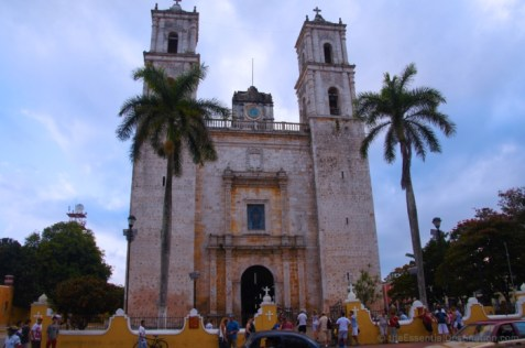 A church in Valladolid