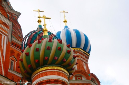 Onion dones of St. Basil's cathedral