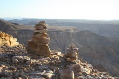Fish River Canyon rocks