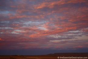 Namibian desert sky